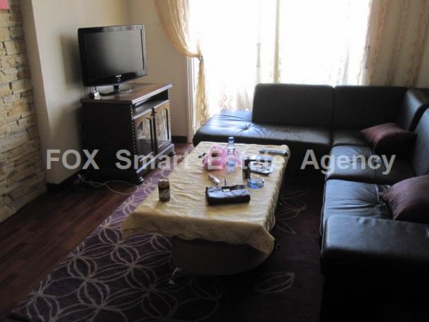 Spacious Fully Furnished 2 bedroom apartment in the district of Latsia