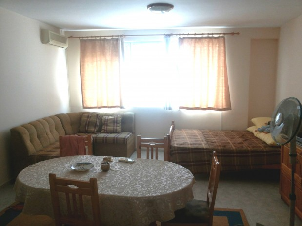 397E/m2 Sea view furnished studio apartment for sale in residential building Sveti Vlas