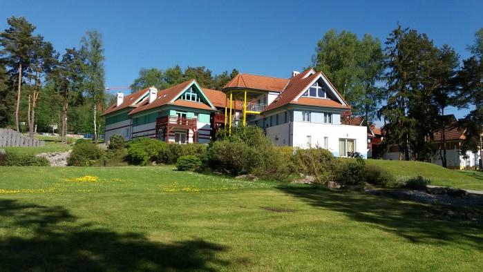 Leuk appartement op park Riviera Lipno met uitzicht op Lipnomeer zuid Tsjechie