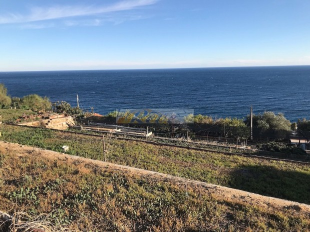 Plot with sea view with approved project for sale in Bordighera. REF 992