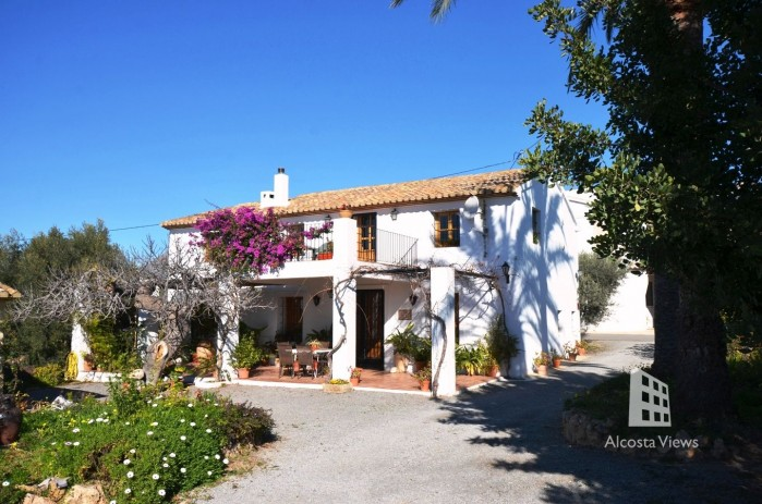 Authentieke Spaanse Finca in Altea