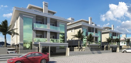 600mt Sea Ingleses-FLORIANOPOLIS-BRAZIL-Financing Apartment 2Dorm