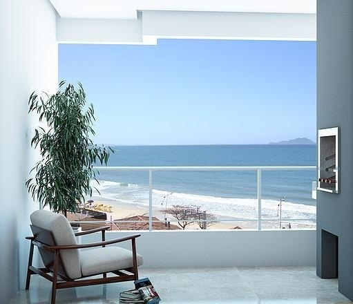 OCEANFRONT Ingleses-FLORIANOPOLIS-BRAZIL-Financing Apartment 2Dorm