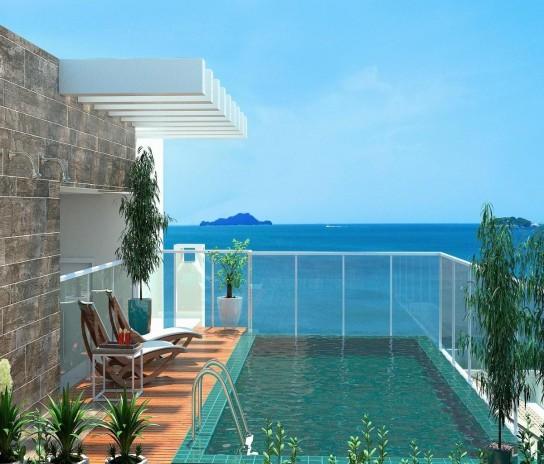 OCEANFRONT Ingleses-FLORIANOPOLIS-BRAZIL-Financing Apartment 1Dorm First Floor