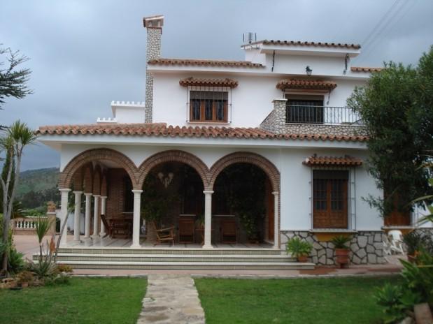 Villa van zeer goede kwaliteit aan de rand van Valle de Abdalajis.