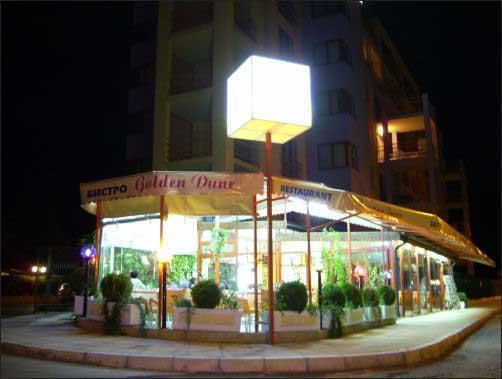 ?op restaurant vlakbij het strand in Nesebar