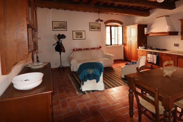 Castagneto Carducci, apartment on the poet?s hill