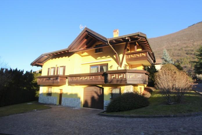 Single villa on the hills of Spormaggiore