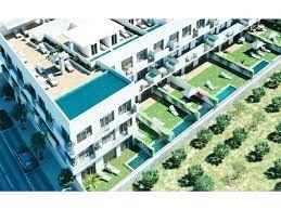 Appartement met prive zwembad en tuin en zeezicht
