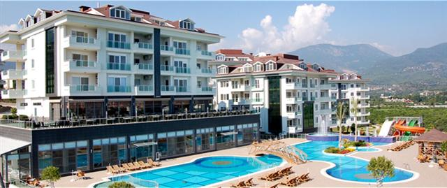 Alanya (Turkije) - Appartement in luxe resort Olive City.